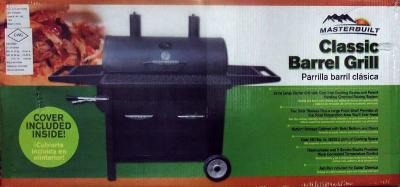 MASTERBUILT BARREL BBQ 1