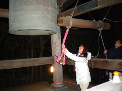 長谷寺除夜の鐘